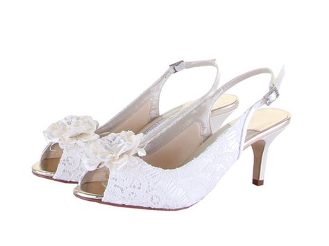 Wedding Shoes Uk Cheap by Rainbow Couture Shoes Cheap Dyeable Lace Bridal Shoes
