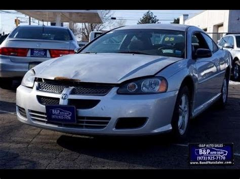 dodge stratus 2005 manual 2005 dodge stratus problems manuals and repair