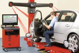 Truck Wheel Alignment Technician Wheel Alignment Tech Automotive Service Professional