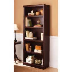 bookshelves at walmart better homes and gardens ashwood road 5 shelf bookcase
