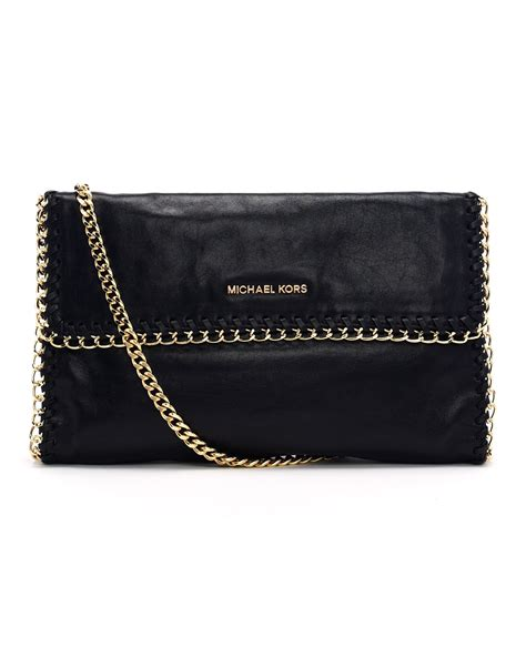 Cheap Clutch Alert by Michael Michael Kors Oversize Chelsea Clutch Bag In Black