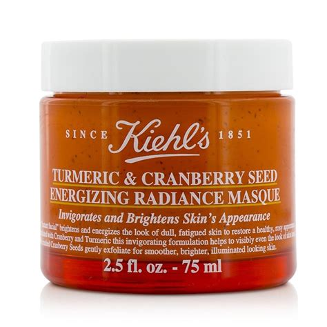 Turmeric Cranberry Seed Energizing Radiance Masque kiehl s new zealand turmeric cranberry seed energizing radiance masque by kiehl s fresh