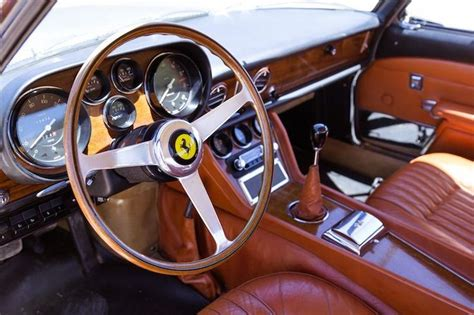 Classic Car Interior Upholstery by 1965 275 Gtb Nose Alloy Cars Italian Style Cars Pebble