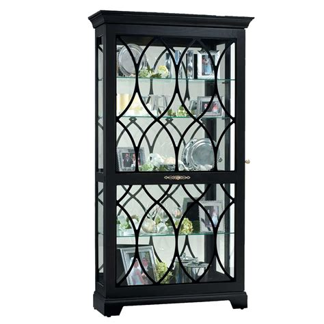 Black Curio Cabinet by Black Corner Curio Cabinet For Home Office