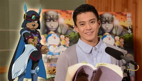 shun oguri doraemon shun oguri to voice act in upcoming doraemon movie