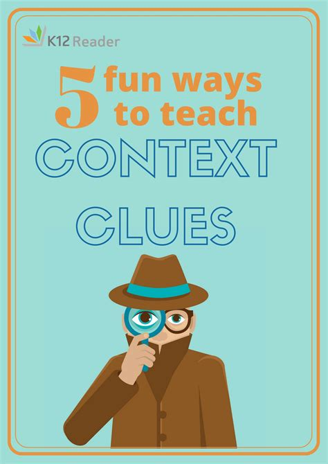 picture books to teach context clues five ways to teach context clues