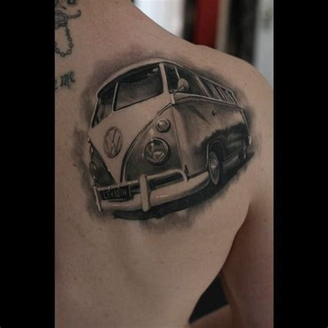 vw bus tattoo 1000 images about on futurama