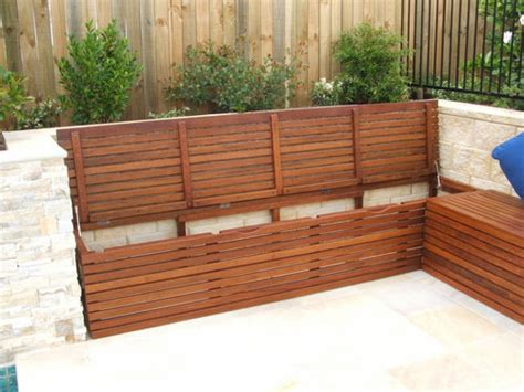 diy outdoor storage box outdoor bench seat with storage