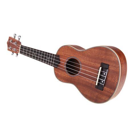 Aqila 2in 1 andoer 21 ukelele ukulele hawaiian mahogany aquila