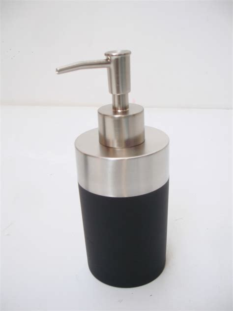 modern bathroom soap dispenser modern chrome bathroom kitchen soap dispenser toilet brush