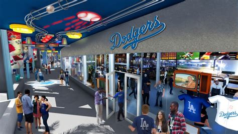 dodger stadium  receive  renovation ballpark digest