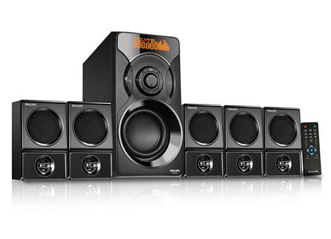 1 Unit Home Theater Multimedia multimedia speaker 5 1 spa6700b 94 philips