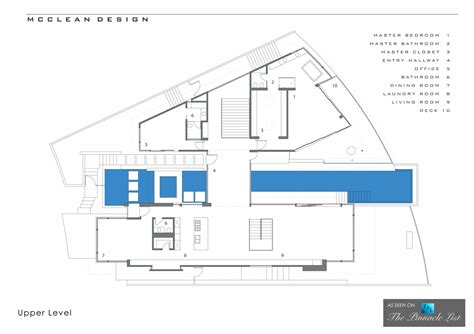 floor plan los angeles 1474 blue jay way residence los angeles ca upper