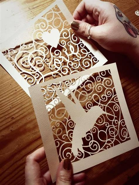 paper cut card templates 263 best papercut templates images on