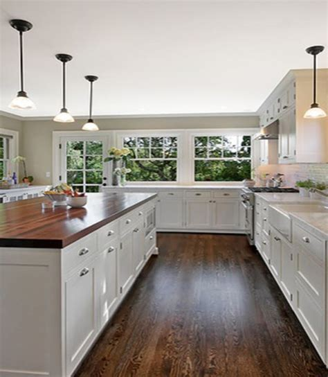 white kitchen cabinets with butcher block countertops butcher block marble butcher block countertops pros cons whereweareblog house