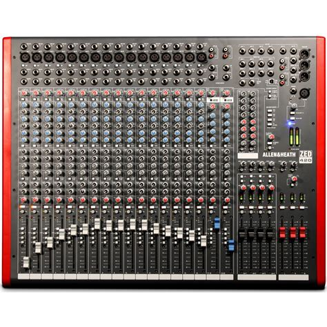 Allen Heath Mixer Live Pa28 allen heath zed 420 vintage king
