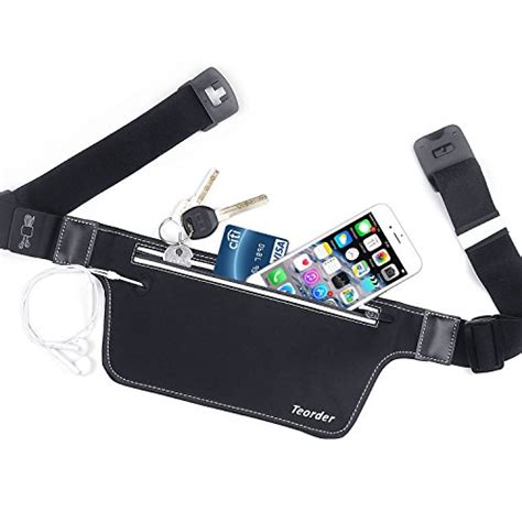 Waist Belt Pouch Iphone 6 Plus teorder running belt pouch for iphone 6 6s 7 8 plus waist