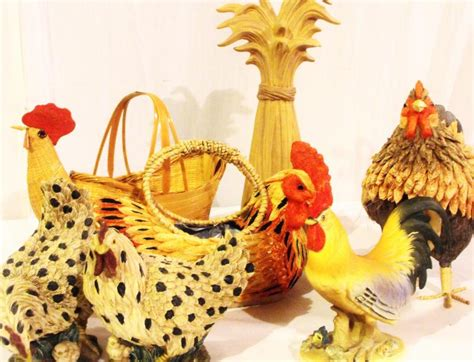 Rooster Decor Chicken Rooster Set All The Rage Decor