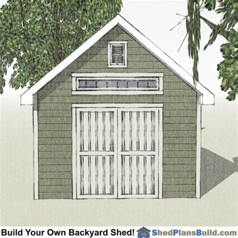 Garden Shed Plans 12x16 by 12x16 Tv Traditional Garden Shed Plans