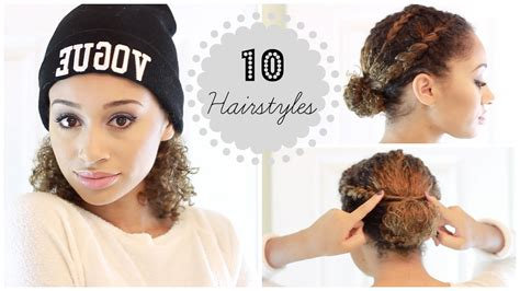 how to do a hairstyle for hair 10 easy fall winter hairstyles for curly hair