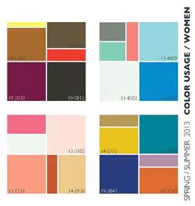 colors that work well together lenzing trends spring summer 2013 color usage nidhi