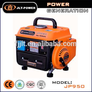 cheap small petrol generator for home use portable 950