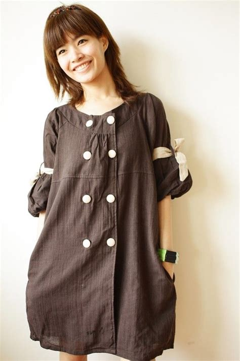 bell sleeve cotton dress fashion