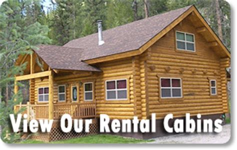 Rental Cabins In Montana by Montana Vacation Rental Cabins Bitterroot Cabins