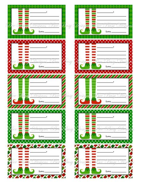 printable elf on the shelf notes printable elf christmas notes instant downloads