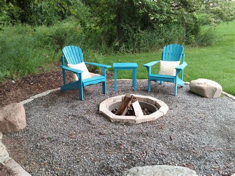 diy pit with pea gravel diy brick pit and gravel patio garden bricks chsbahrain
