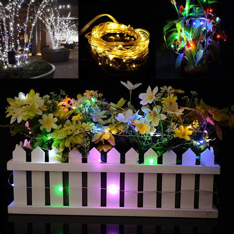 10m 100led christmas fairy lights copper wire led starry