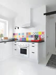 Colorful Kitchen Backsplashes by 36 Colorful And Original Kitchen Backsplash Ideas Digsdigs