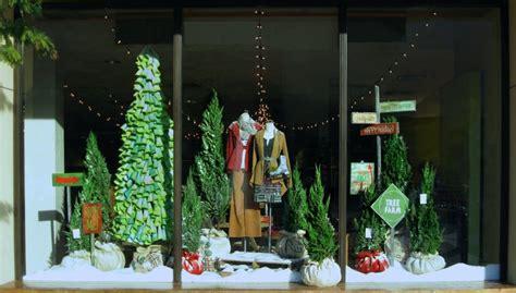 christmas window stores black eiffel anthropologie window displays 2010