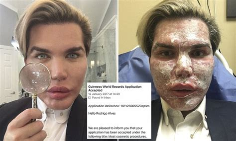 human ken doll before and after human ken doll rodrigo alves set to enter the record books