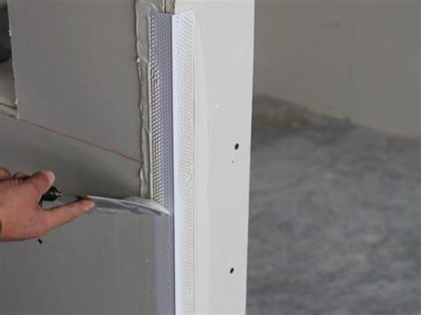 how to mud metal corner bead mud set rigid low profile corner bead trim tex drywall