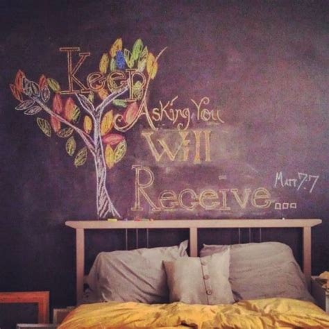 bedroom messages 50 chalkboard wall paint ideas for your bedroom