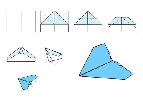 Paper Airplanes That Fly Far And Are Easy To Make - hm830 easy rc folding a4 paper airplane shop time
