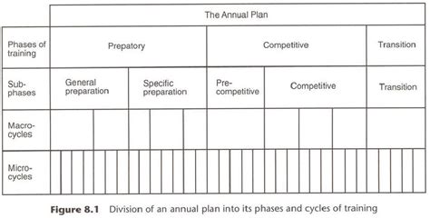 theory of planning your training program the athlete clinic