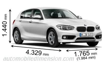 Bmw 1er E87 Kofferraum Länge by Dimensions Bmw 1 2015 Coffre Et Int 233 Rieur