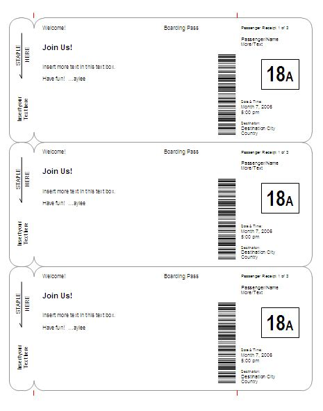 boarding pass template 301 moved permanently