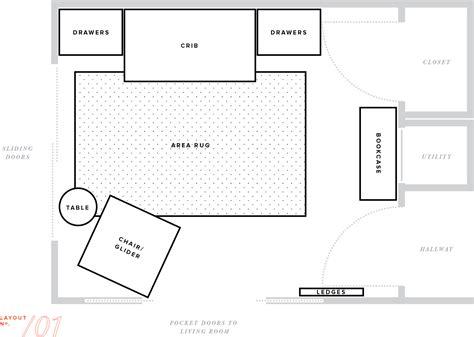 create room layout nursery makeover floor plan furniture layout baby boy