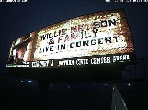 Dothan Civic Center Box Office by Digital Billboard Durden Ourdoor Displays