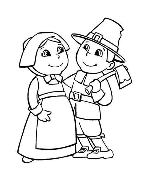 pilgrim color free printable pilgrim coloring pages for best