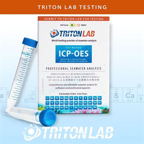 Triton Detox For Aquarium by Triton Labs Icp Oes Laboratory Seawater Analysis Goods