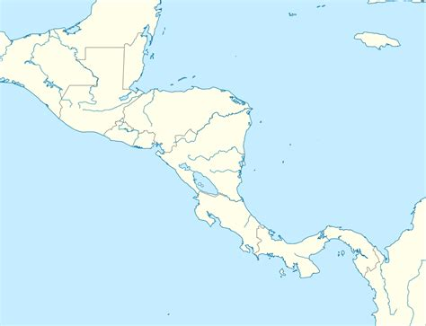 file outline map of central america svg wikimedia commons