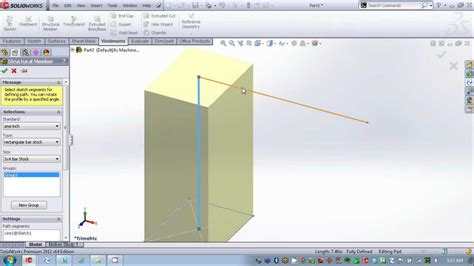 tutorial solidworks weldments solidworks creating custom weldment profiles author
