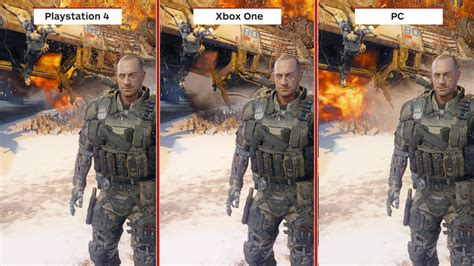 Bd Ps4 Call Of Duty Black Ops 3 Blackops 3 Bo 4 call of duty black ops 3 graphics comparison
