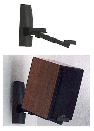 sanus speaker wall mounts for larger bookshelf speakers