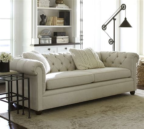 Pottery Barn Leather Sofa Review Pottery Barn Comfort Sleeper Sofa Reviews Www Energywarden Net