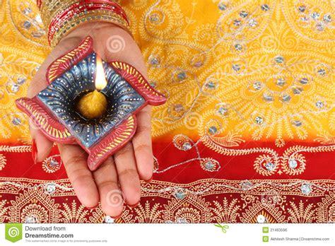 Handmade Diwali Diyas - handmade diwali diya l royalty free stock image image
